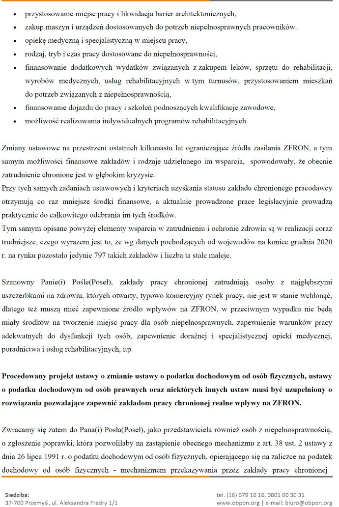 druga strona dokumentu