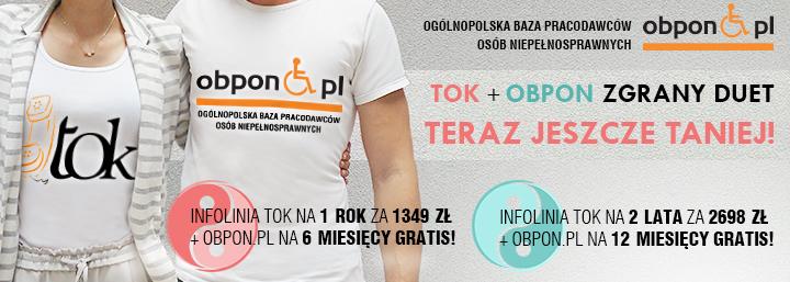 Zapraszamy do zapoznania się z ofertą Ogólnopolskiej Bazy Pracodawców Osób Niepełnosprawnych