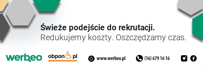 Wejdż na                         Werbeo.pl i zostaw swoje CV