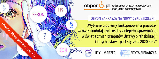 Skolenie OBPON - Ustawa o rehabilitacji po zmianach w 2019 r.